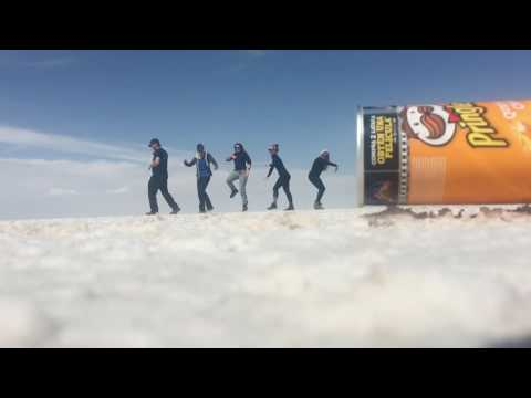 Playing with Perspective at the Uyuni Salt Flats