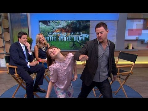 Channing Tatum's 45-Second Handshake With Young Co-Star   Good Morning America   ABC News
