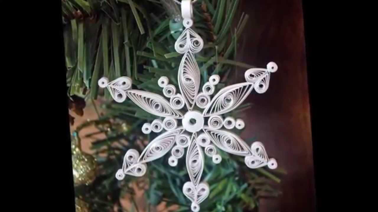 Квиллинг новогодние поделки своими руками фото 731