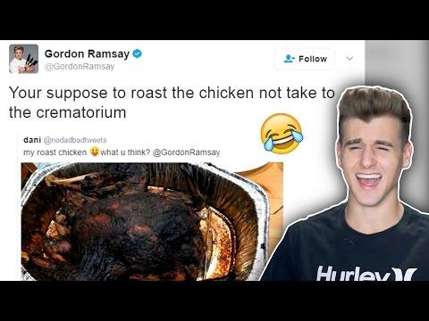 Gordon Ramsay Roasting People On Twitter!