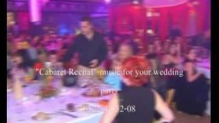 Музыка на свадьбе в Израиле-CabaretRecital
