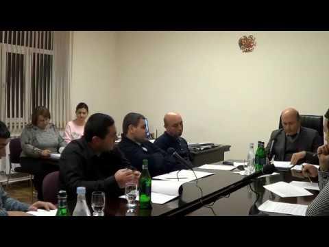 Բյուրեղավան համայնքի ավագանու հերթ. նիստ-12.12.18