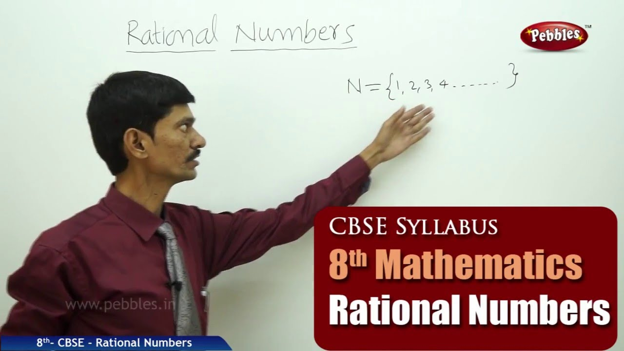 Rational Numbers | Class 8th Mathematics | NCERT | CBSE Syllabus | Live  Videos