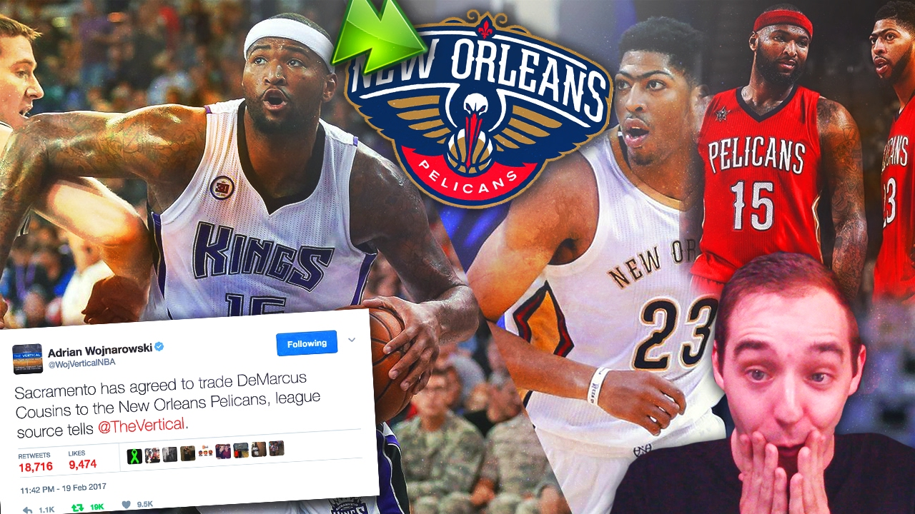 DEMARCUS COUSINS TRADED TO THE NEW ORLEANS PELICANS! REACTION AND THOUGHTS! f139b0496