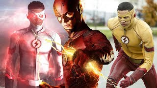 Wally to Become Faster? Will Wally have a New Lightning Color? - The Flash Season 4