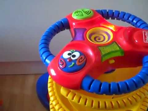 Fisher Price Toy With Sounds Baby Playzone Pull Up Ball