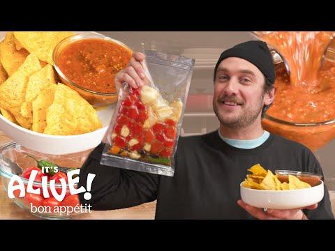 Brad Makes Fermented Salsa | It's Alive | Bon Apptit