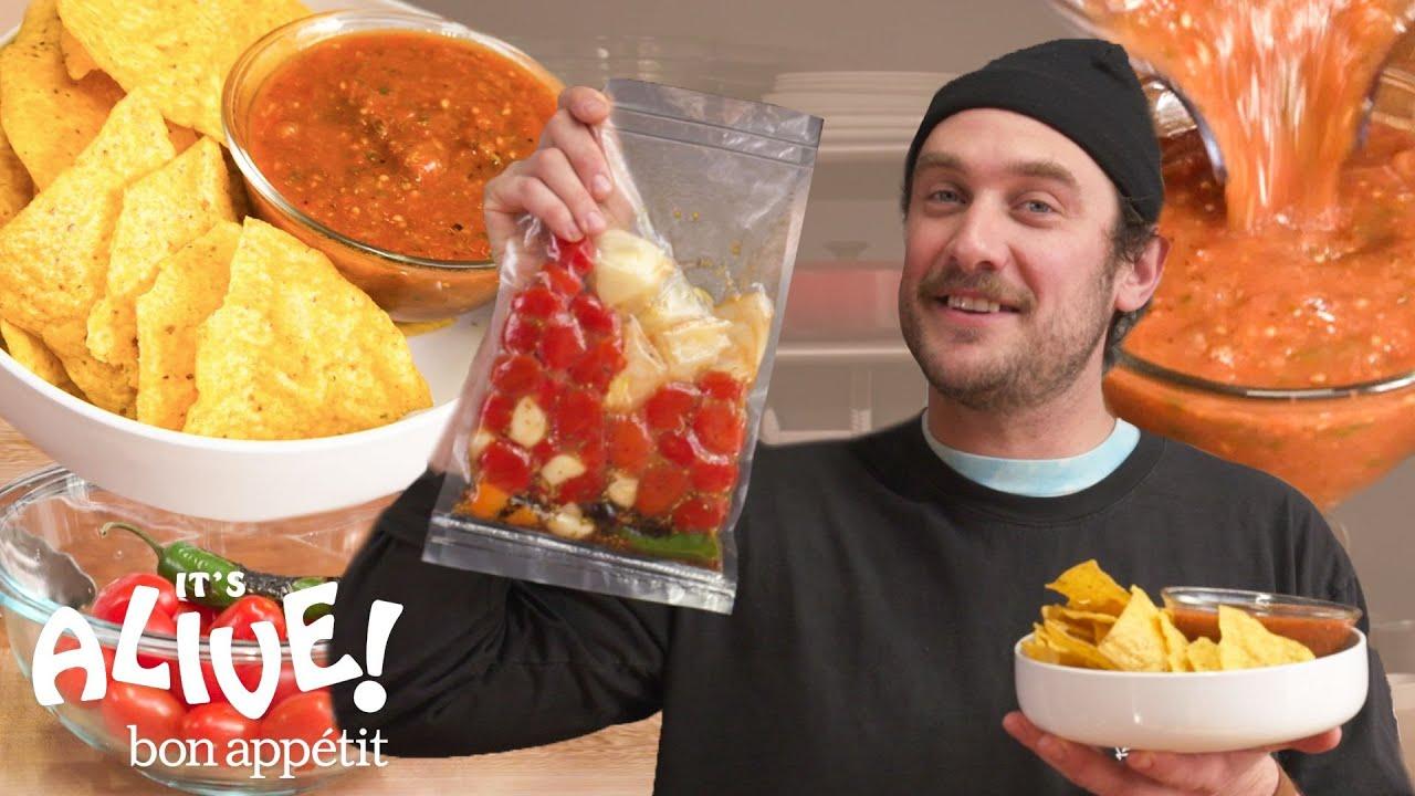 Brad Makes Fermented Salsa   It's Alive   Bon Appétit