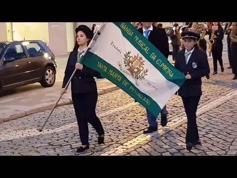 Procession of Our Lady of Lourdes with Cumieira's Musical Band. Vila Real, Portugal. 2019. 4K UHD