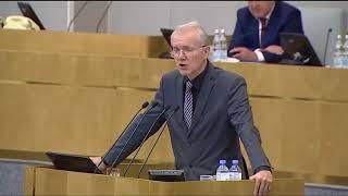 Выступление профсоюзного лидера, депутата Госдумы Олега Шеина против повышения пенсионного возраста