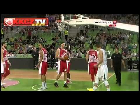 KK Union Olimpija : Crvena zvezda Telekom 61:62   Highlights [ABA League 4. kolo   20.10.2013]