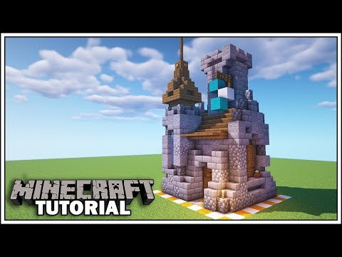 Minecraft 8x8 Castle Tutorial [How To Build]