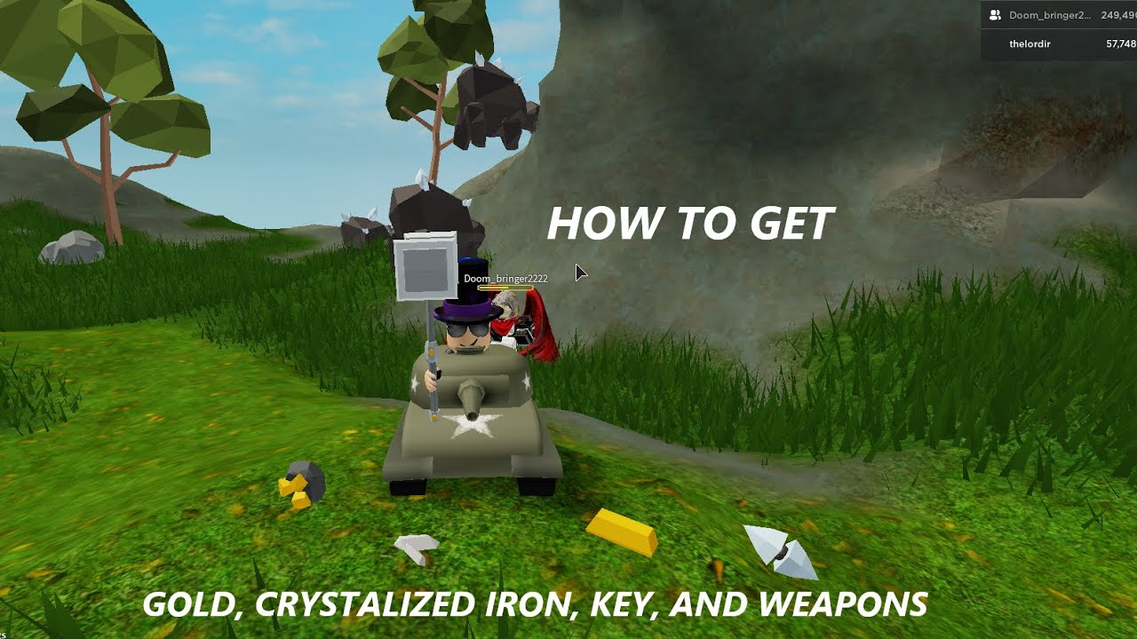 Quick Tutorial Roblox Skyblock How To Get Gold Crystallized