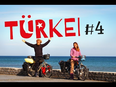 Winter Bicycletouring in Turkey Part 4 - Black Sea