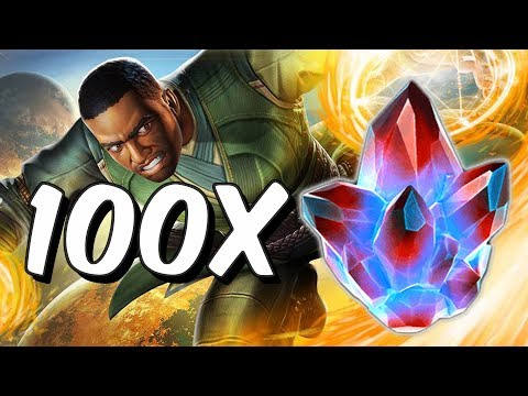 100x Alliance Quest Crystal Opening! - Marvel Contest Of Champions