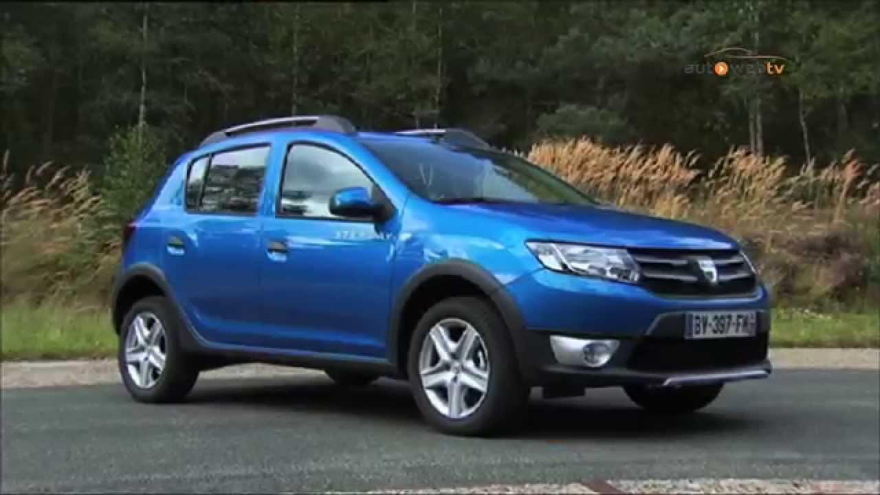 dacia sandero stepway diesel test drive youtube. Black Bedroom Furniture Sets. Home Design Ideas