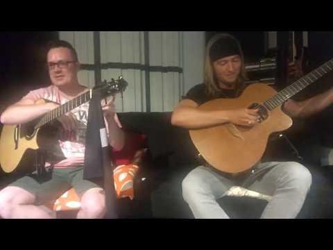 live acoustic mini-concert w Antoine Dufour & Calum Graham