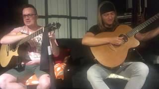 live acoustic mini concert w antoine dufour calum graham
