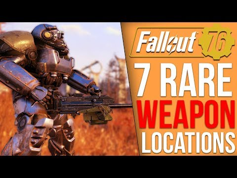Fallout 76 - 7 Rare Weapon Spawn Locations