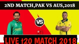 watch Pakistan vs Australia match live 2018