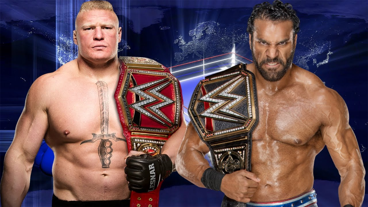 Image result for Brock Lesnar vs. Jinder Mahal