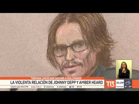 Termina el juicio: La violenta relación de Johnny Depp y Amber Heard