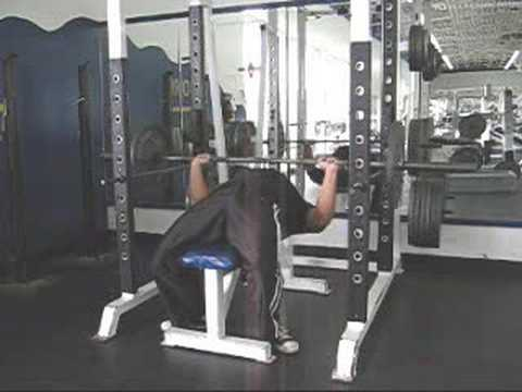 How To Bench Press By Yourself Without A Spotter Youtube