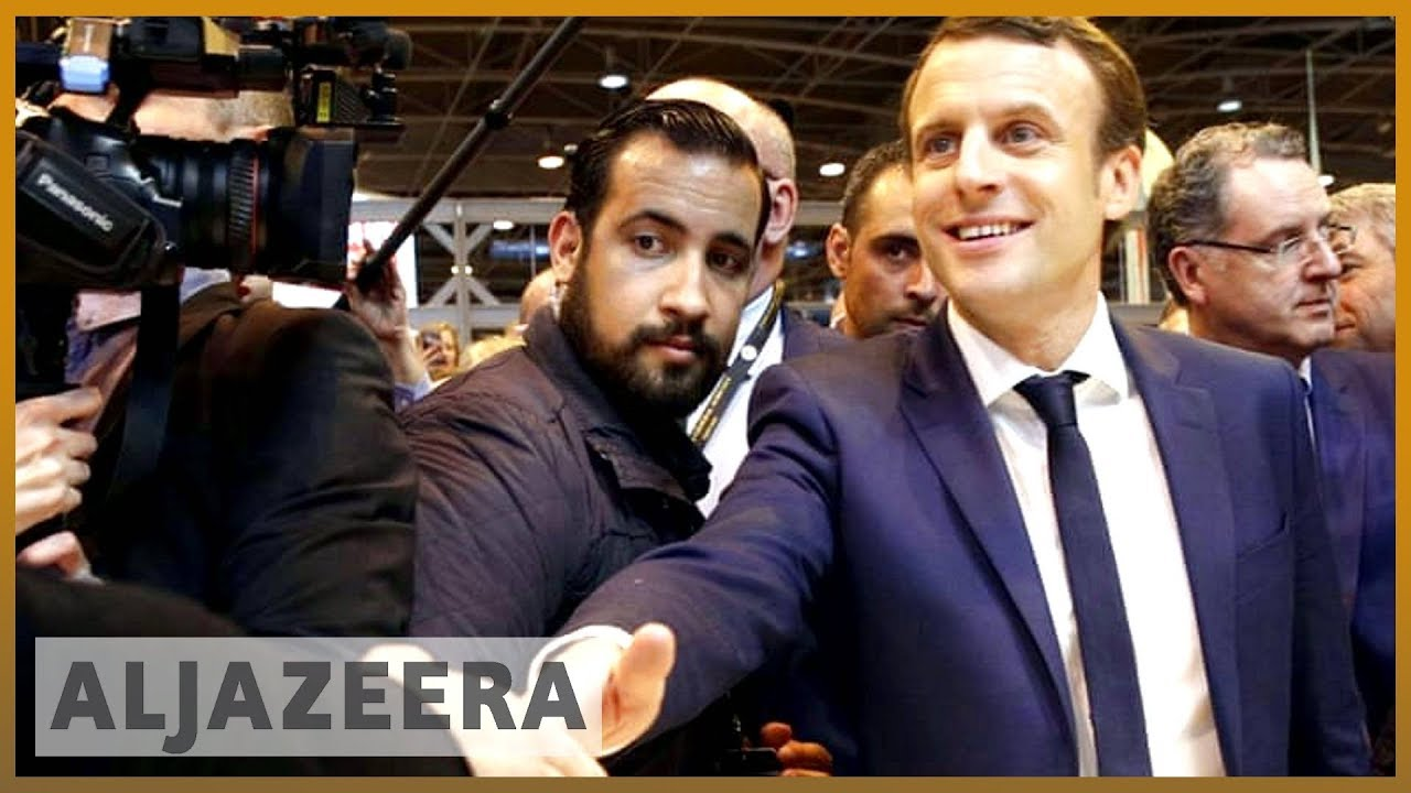 🇫🇷 Macron aide probed after caught on video beating protester | Al Jazeera English