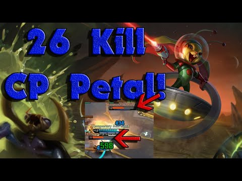 26 KILLS CP PETAL GAME!// Vainglory 5v5