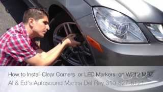 how to remove side marker on w212 mercedes benz e350 2009 2011