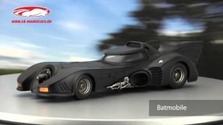 ck-modelcars-video: Batmobile aus dem Film Batman Returns 1992 HotWheels