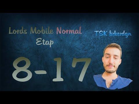 Lords Mobile Normal Etap 8-17