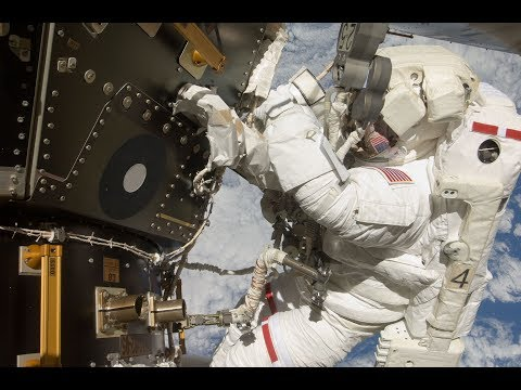 WATCH LIVE - SPACEWALK: ISS Expedition US spacewalk with astronauts McClain and Hague (2)