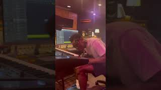 """Tyler, the Creator working on """"SWEET / I THOUGHT YOU WANTED TO DANCE"""" in the studio"""