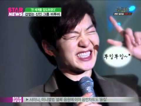 [Y-STAR] Rookie group 'BTOB', stately (겁 없는 신인 그룹 '비투비' 욕심은 많다?)