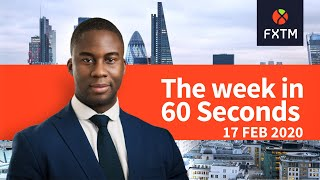 Stock markets, FOMC Minutes, PMIs: The week in 60 seconds | FXTM | 17/02/2020