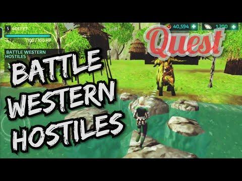 Battle Western Hostiles | Dino Tamers || 4017