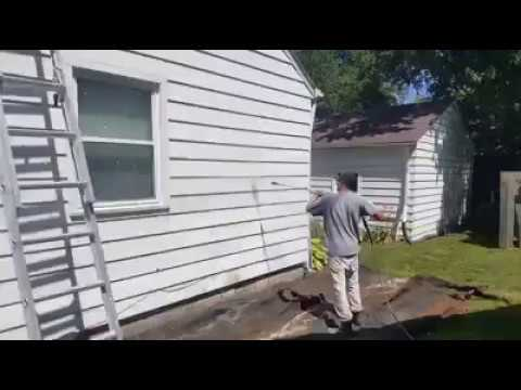 Paint Medics Pressure Washing Paint Removal