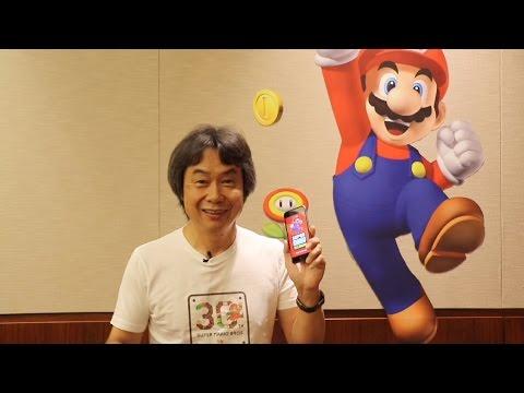 Mr. Miyamoto introduces Super Mario Run!