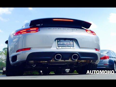SOUND: 2017 Porsche 911 Carrera S Exhaust /Start Up /Short Drive