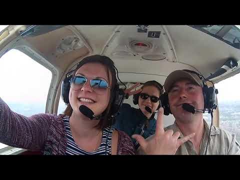 Полет на самолете Piper