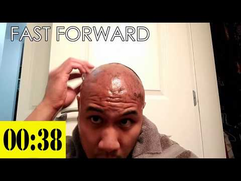 Fastest Head Shave using the OmniShaver