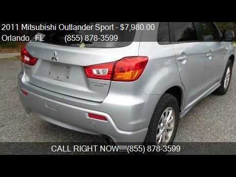 2011 Mitsubishi Outlander Sport ES 4dr Crossover 5M for sale