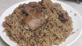 Yahni Pilau Rice || Chicken soup & Brown rice || [Easy, Yummy, desi recipe]
