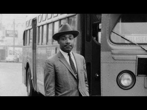 """""""Always Fight With Love"""": In Rare Footage, A Young MLK Jr. Launches the Montgomery Bus Boycott"""
