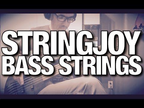 Stringjoy Strings - Bass Demo - Day 1