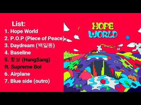 J-Hope - Hope World (Full Mixtape)