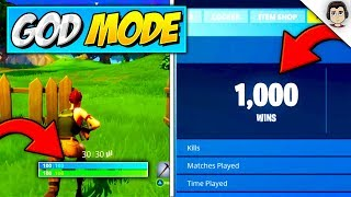 How To Win EVERY GAME With This *GOD MODE* GLITCH! (TUTORIAL) Fortnite NEW GOD MODE GLITCH Season 5