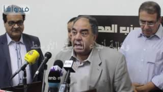 """رئيس حزب المصري العربى الديموقراطي""""قانون الضريبة المضافة سيؤدى إلى زيادة الفقر"""""""