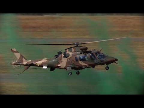 SAAF Agusta A109 LUH Combat Helicopter